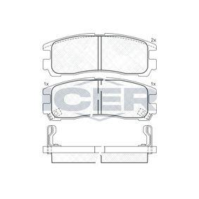 Kit pastiglie freno, Freno a disco 180981 L 400 Bus (PD_W, PC_W, PA_V, PB_V, PA_W) 2.5 TD 4WD ac 1998