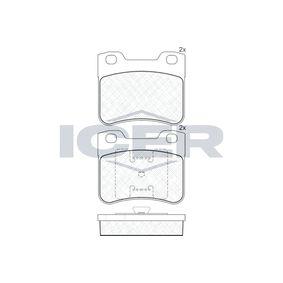 Bremsbelagsatz, Scheibenbremse Art. Nr. 181150 120,00€
