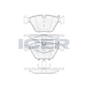 Bremsbelagsatz, Scheibenbremse Art. Nr. 181998 120,00€