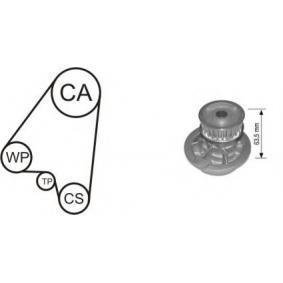 Водна помпа+ к-кт ангренажен ремък WPK-144801 Astra F Caravan (T92) 2.0 i (F08, C05) Г.П. 1992