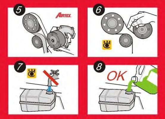 Wasserpumpe + Zahnriemensatz AIRTEX WPK-156301 Erfahrung