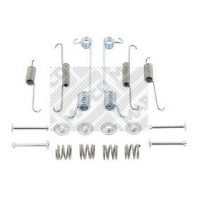 Σετ βοηθ. εξαρτημάτων, σιαγόνες φρένου 9500 MICRA 2 (K11) 1.3 i 16V Έτος 1993