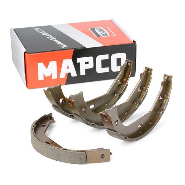 MAPCO fékpofakészlet hátsótengely, 185mm 8843