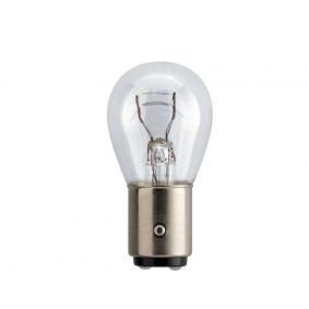 Крушка с нагреваема жичка, стоп светлини / габарити P21/4W, 12волт, BAZ15d, 21/4ват 12594B2