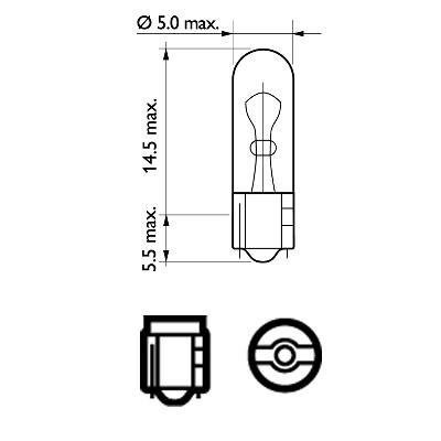 Glühlampe, Innenraumleuchte PHILIPS 48153573 Bewertung