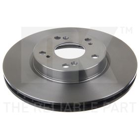 Brake Disc Brake Disc Thickness: 23mm, Rim: 5-Hole, Ø: 282mm with OEM Number 45251-TA0-A01