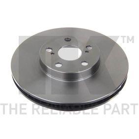 Disque de frein Epaisseur du disque de frein: 25,00mm, Jante: 5,00Trou, Ø: 275mm avec OEM numéro 4351220710