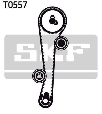 Water Pump + Timing Belt Kit SKF VKMA95632 rating