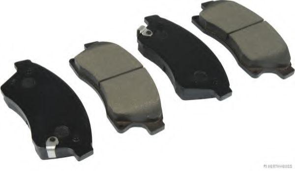 HERTH+BUSS JAKOPARTS  J3600913 Bremsbelagsatz, Scheibenbremse Breite 1: 59,5mm, Dicke/Stärke 1: 19mm