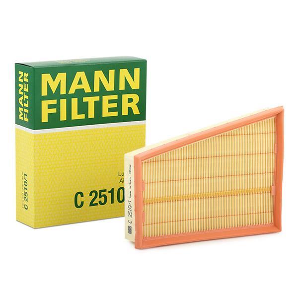 Luftfilter C 2510/1 MANN-FILTER C 2510/1 in Original Qualität