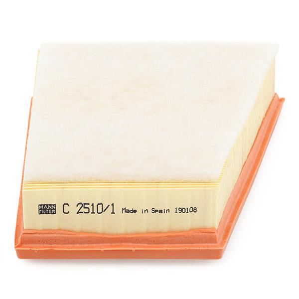 Luftfilter MANN-FILTER C 2510/1 4011558385101