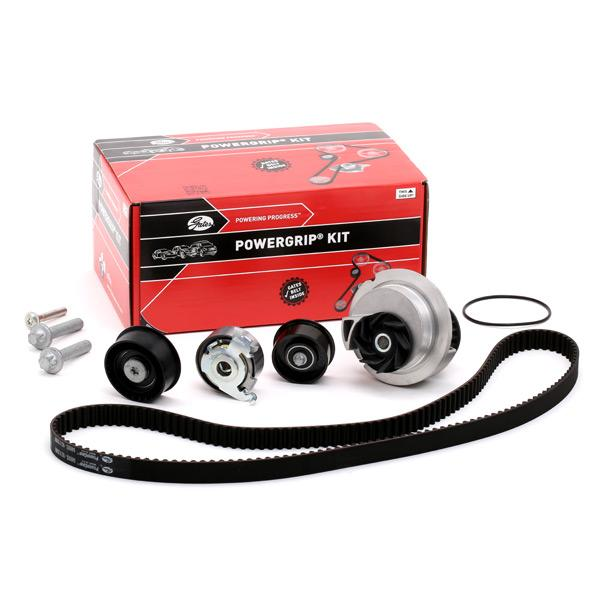 Timing belt and water pump kit GATES T42122 expert knowledge