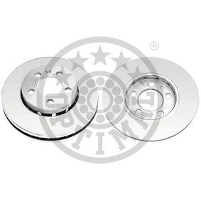 Bremsscheibe Bremsscheibendicke: 22mm, Ø: 256mm mit OEM-Nummer 6R0615301C