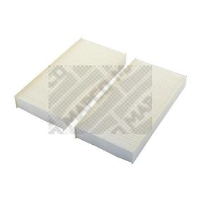 Filter, interior air Length: 225mm, Width: 111mm, Height: 30mm with OEM Number 80292-SCA-E11