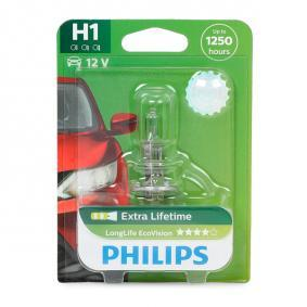 Glühlampe, Fernscheinwerfer H1, 55W, 12V 12258LLECOB1 VW GOLF, PASSAT, POLO