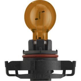 Bulb, indicator PSY24W, PG20/4, 12V, 24W 12188NAC1 MERCEDES-BENZ E-Class Saloon (W212)