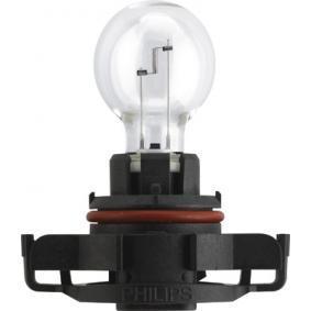 Glühlampe, Nebelschlussleuchte PS19W, PG20/1, 12V, 19W 12085LLC1 AUDI A3 Schrägheck (8P1)