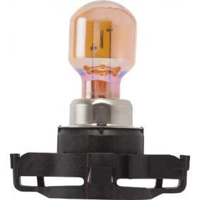 Bulb, indicator Silver 12V 24W, PY24W, PG20/4 12274SV+C1 VW TRANSPORTER, MULTIVAN