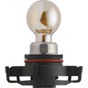 Bulb, indicator PSY24W, PG20/4, 12V, 24W 12180SV+C1 VW GOLF, POLO, PASSAT