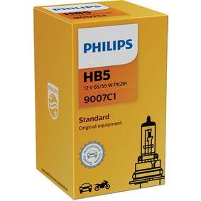 Bulb, spotlight HB5, 65/55W, 12V 9007C1