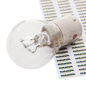 Bulb, indicator P21W, BA15s, 24V, 21W 17644