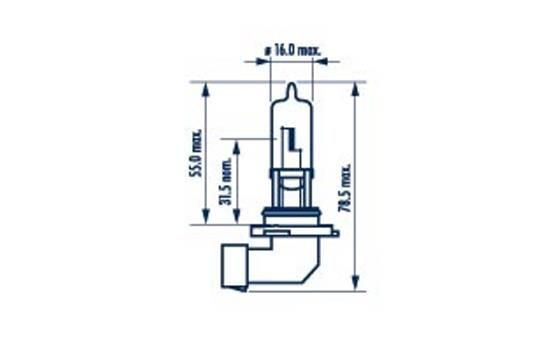 Glühlampe, Fernscheinwerfer 48616 NARVA HB3 in Original Qualität