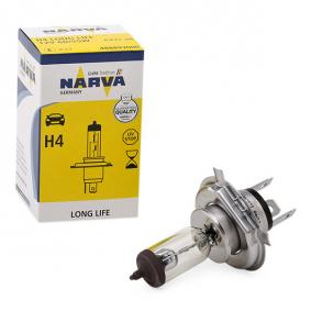 NARVA Glühlampe, Fernscheinwerfer 48889 für AUDI 80 (8C, B4) 2.8 quattro ab Baujahr 09.1991, 174 PS