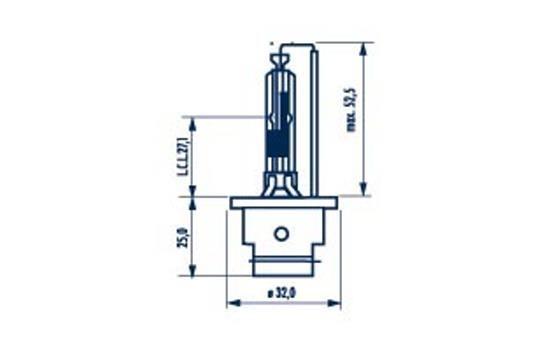 NARVA Xenon 84006 Glühlampe, Fernscheinwerfer