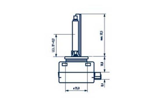 NARVA Xenon 84010 Glühlampe, Fernscheinwerfer