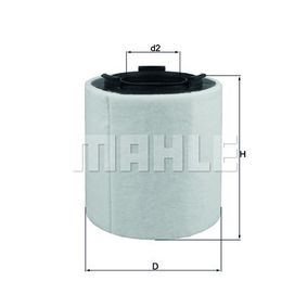 Air Filter LX 2831 Fabia 2 (542) 1.4 TSI RS MY 2012