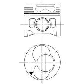 Kolben für VW TRANSPORTER IV Bus (70XB, 70XC, 7DB, 7DW) 2.5 TDI 102 PS ab Baujahr 09.1995 KOLBENSCHMIDT Kolben (99743700) für