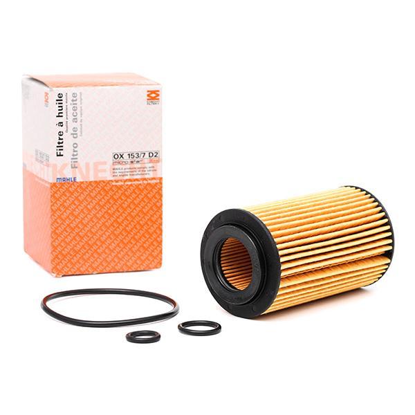 Filtro de aceite de motor MAHLE ORIGINAL 70532398 conocimiento experto