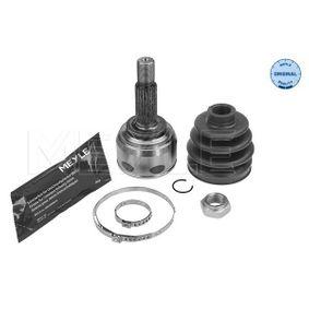 MEYLE  36-14 498 0036 Joint Kit, drive shaft Outer teething wheel side: 23, Int. teeth. wheel side: 21