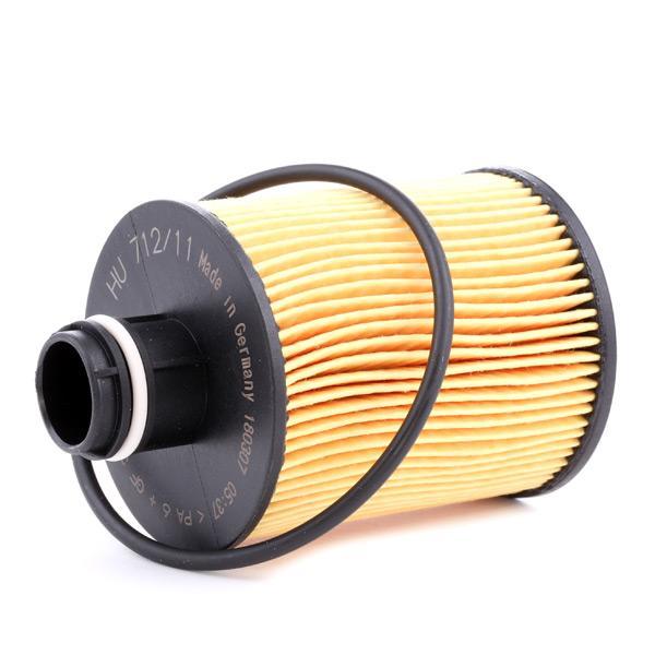 Filtro de aceite de motor MANN-FILTER HU 712/11 x 4011558002510