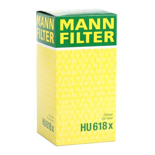 Número do artigo HU 618 x MANN-FILTER preços
