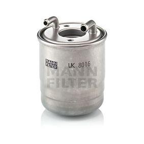 MANN-FILTER  WK 8016 x Fuel filter Height: 93mm