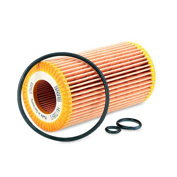 Filtro de aceite de motor MANN-FILTER HU 718/1 k 4011558290009