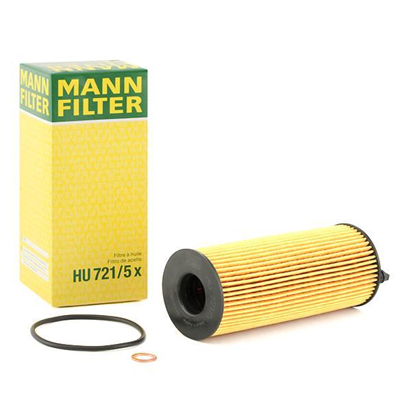 Oil Filter MANN-FILTER HU721/5x expert knowledge