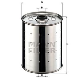 MANN-FILTER  PF 915 n Ölfilter Ø: 90mm, Innendurchmesser: 14mm, Höhe: 110mm