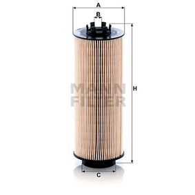 Fuel filter Height: 250mm with OEM Number 145 0184