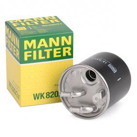 MANN-FILTER WK820/2x expert knowledge