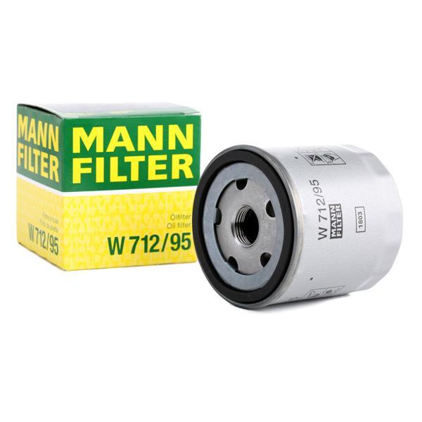 Filtro olio motore MANN-FILTER W712/95 conoscenze specialistiche