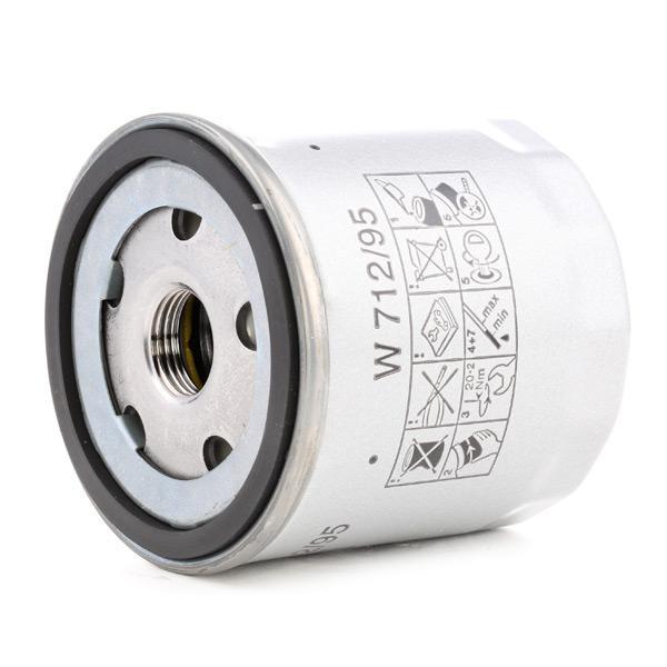 Filtro olio motore MANN-FILTER W 712/95 4011558036010