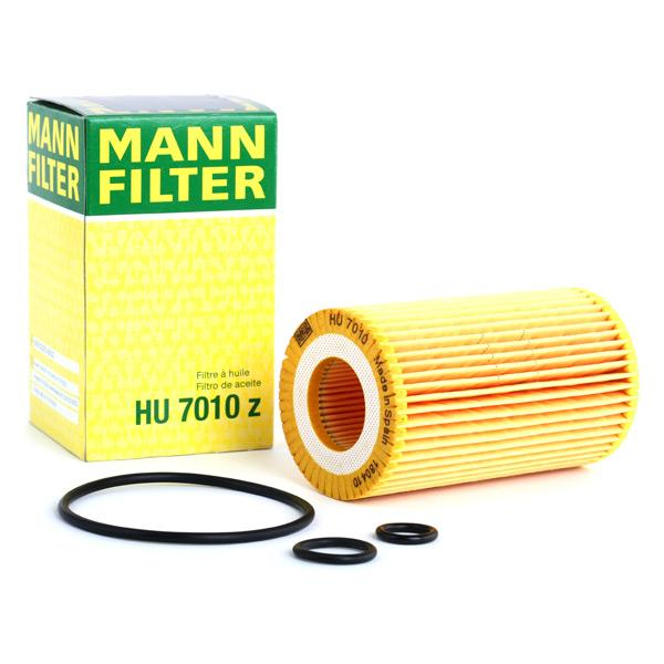 Filtro de aceite de motor MANN-FILTER HU7010z conocimiento experto
