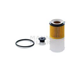 MANN-FILTER  HU 8002 x KIT Ölfilter Ø: 73mm, Innendurchmesser: 36mm, Innendurchmesser 2: 41mm, Höhe: 78mm