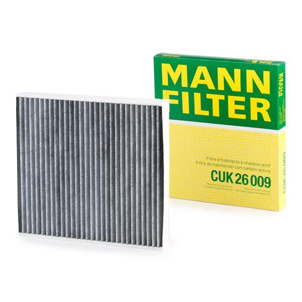 Pollenfilter MANN-FILTER CUK 26 009 Bewertung