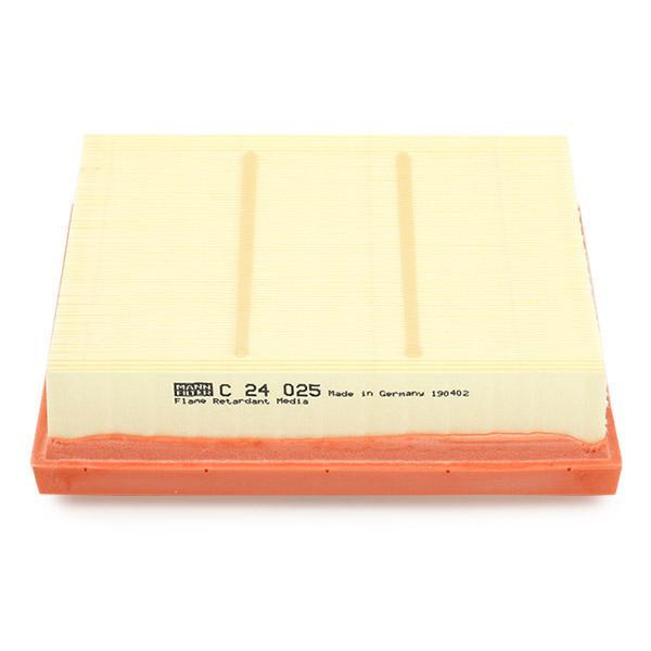 Luftfilter MANN-FILTER C 24 025 4011558028213