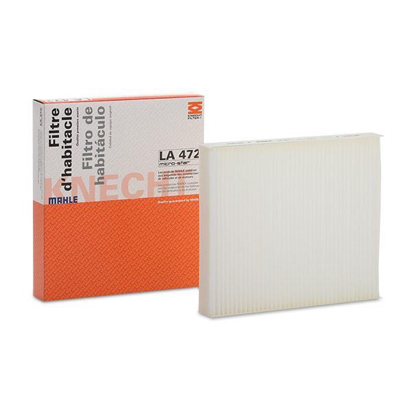 Innenraumfilter LA 472 MAHLE ORIGINAL LAO472 in Original Qualität