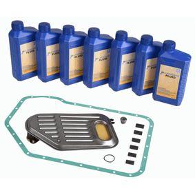 Teilesatz, Ölwechsel-Automatikgetriebe VW PASSAT Variant (3B6) 1.9 TDI 130 PS ab 11.2000 ZF Parts Teilesatz, Ölwechsel-Automatikgetriebe (8700 001) für