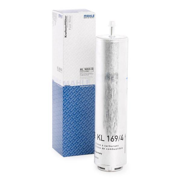 Inline fuel filter KL 169/4D MAHLE ORIGINAL 79927316 original quality